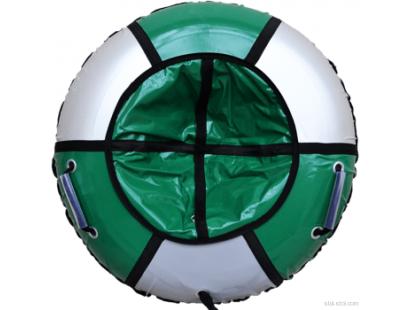 Тюбинг Практик. Цвет зеленый/серебристый