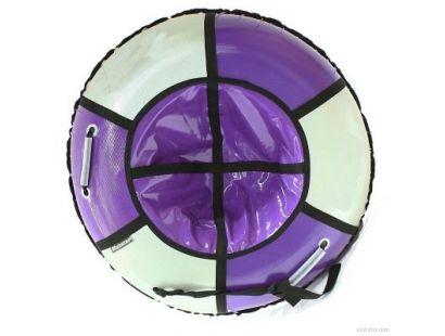 Тюбинг Практик. Цвет фиолетовый/серебристый